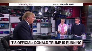 Trump's 'Morning Joe' tweets are just the latest step in a years-long feud