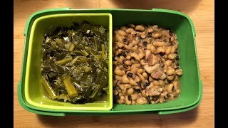 Instant Pot Black-Eyed Peas & Collard Greens