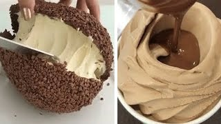 Best Chocolate Cake Hacks   Perfect And Easy Cake Decorating Ideas   So Yummy Cake Recipes смотреть онлайн в хорошем качестве - VIDEOOO