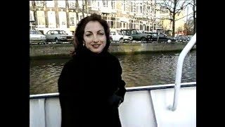 [Rare] Interview Amsterdam Canals boat trip Gloria Estefan 1993