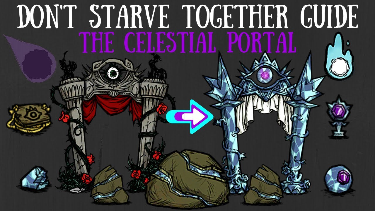 Don T Starve Together Guide The Celestial Portal Youtube