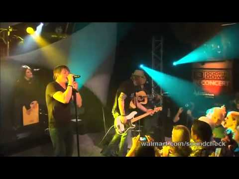 3 Doors Down-Let me be myself Live at Walmart Soundcheck 7 of 7
