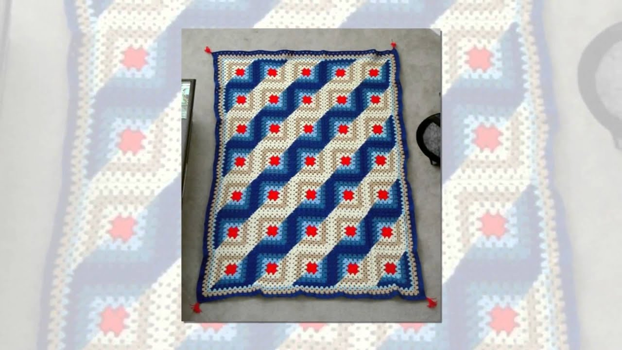 Red Heart Mile A Minute Afghan Pattern Cool Design Inspiration