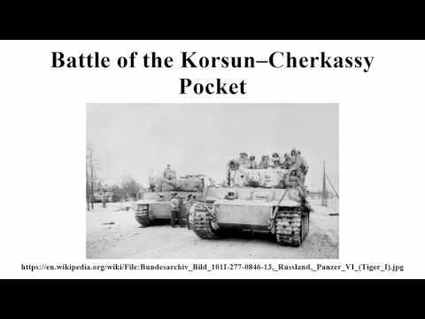 Battle of the Korsun–Cherkassy Pocket