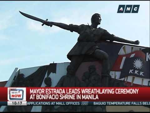 PH marks 152nd anniversary of Andres Bonifacio