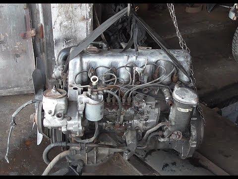Свап ОМ617 TURBO на мерседес W126