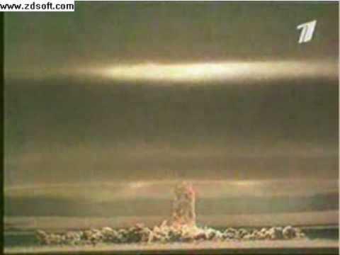 Tsar Bomb  The biggest bomb ever
