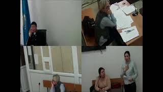 Судебное заседание в г. Костанай