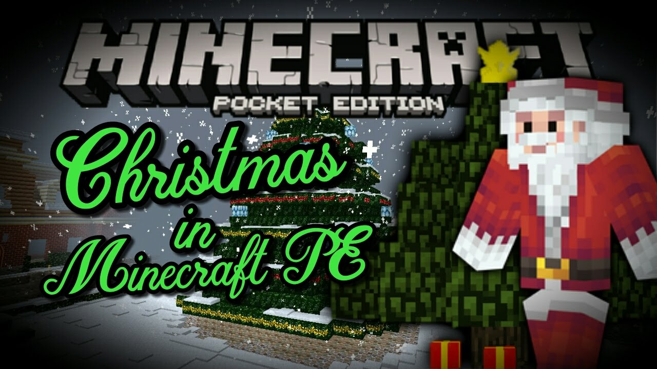 Christmas Decorations In Minecraft Pe : Christmas in mcpe addon minecraft pe