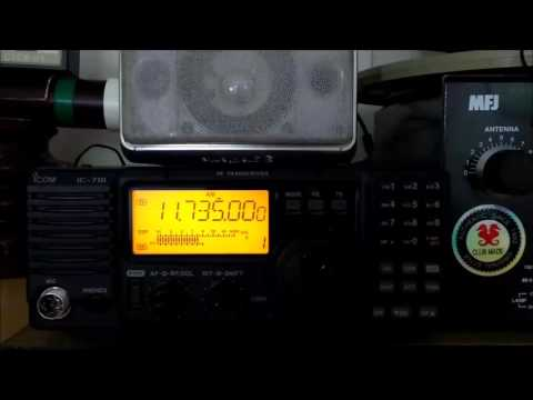 Zanzibar Broadcasting Corp in Swahili 11735KHz via Dole, Tanzania - 01JAN2017 20:27 utc