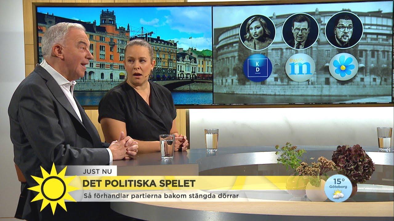 """Det politiska spelet – """"Alla vill föra fram sina förstahandsval tills det är kö - Nyhetsmorgon (TV4)"""