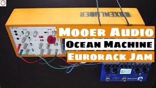Mini Eurorack Synthesizer Jam (Waldorf NW1, MI Braids...) & Mooer Ocean Machine