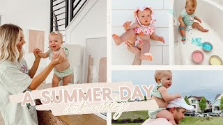 a summer day in my life with a baby! fun activities & ideas!! | Aspyn Ovard