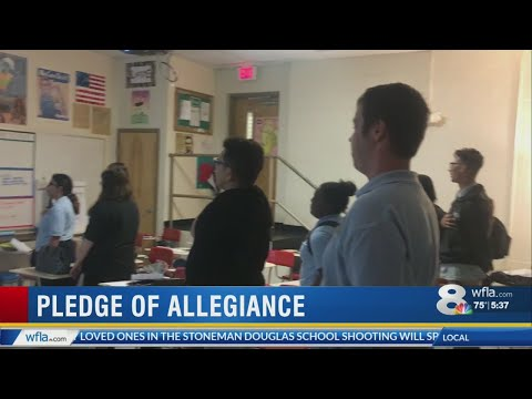 Pepin Academies Pledge of Allegiance