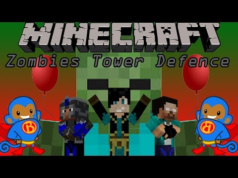 Minecraft Mini-Game (Zombies Tower Defense)