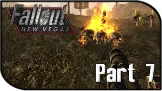 """Fallout: New Vegas Gameplay Part 7 - """"INCINERATOR TIME!"""" (Fallout 4 Hype Let's Play!)"""