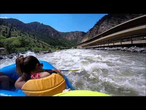 Whitewater Rafting Colorado River Category II - IV - Glendwood Springs, CO