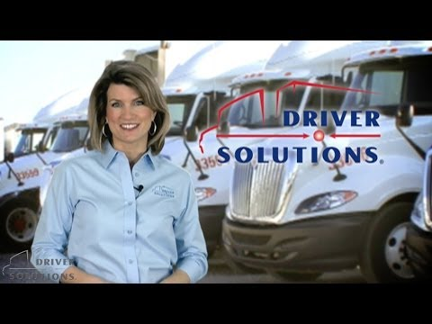 Truck Driving Jobs - Driver Solutions CDL Training Program