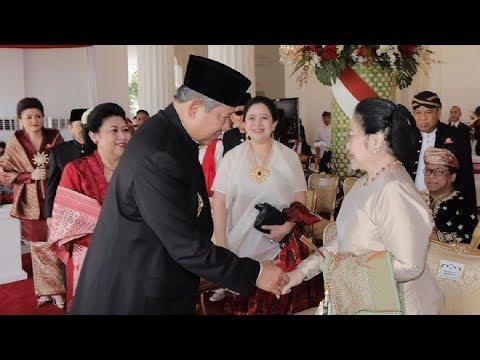 Bersejarah! Potret Langka Kemesraan SBY dan Megawati