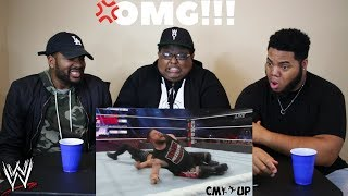 WWE Top 100 OMG Moments of 2017 HD - (REACTION)