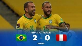Eliminatorias Sudamericanas | Brasil 2-0 Perú |
