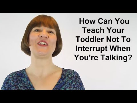 Techniques for Teaching Kids To not Interrupt