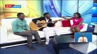 Amos and Josh compose a love song for KTN Anchor Betty Kyalo