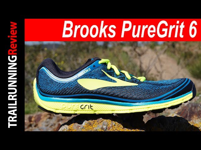 98d909cf7f4 Brooks PureGrit 6 Review - YouTube