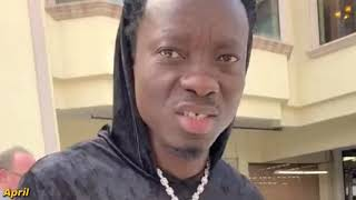 Michael Blackson says bye to Wraith, And Hi To His New Baby!