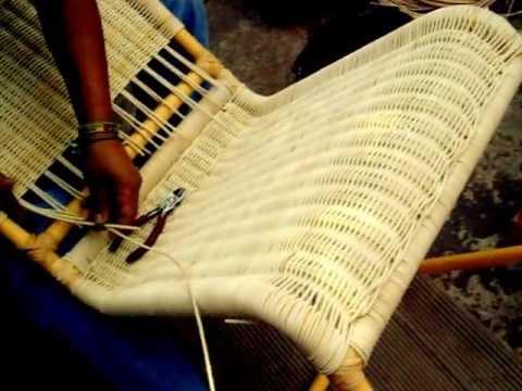 Video de tejido de mimbre youtube for Muebles de bambu y mimbre