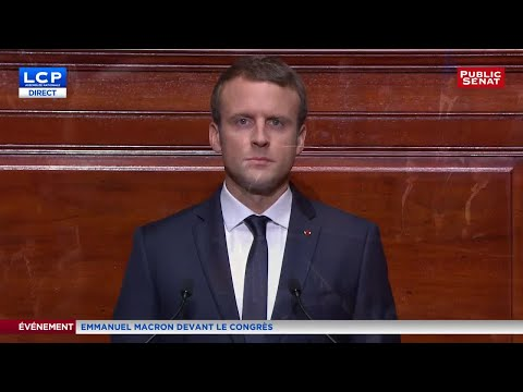 REPLAY. Discours intégal d'Emmanuel Macron devant le Congrès à Versailles