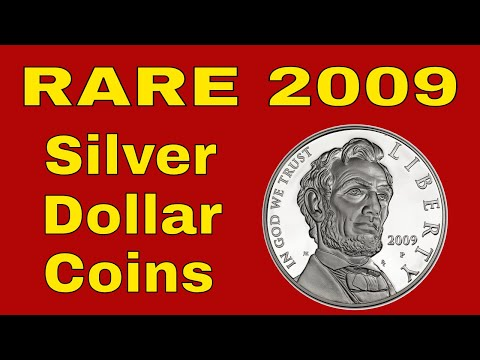 Rare 2009 Silver Dollar Coins To Look For! Dollar Coins Worth Money!