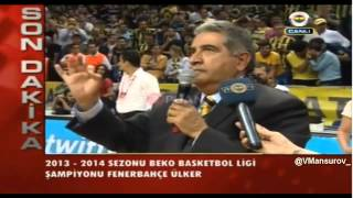 Mahmut Uslu: Biz kumpasçı değiliz, biz paralelci değiliz, biz Fenerbahçeliyiz!