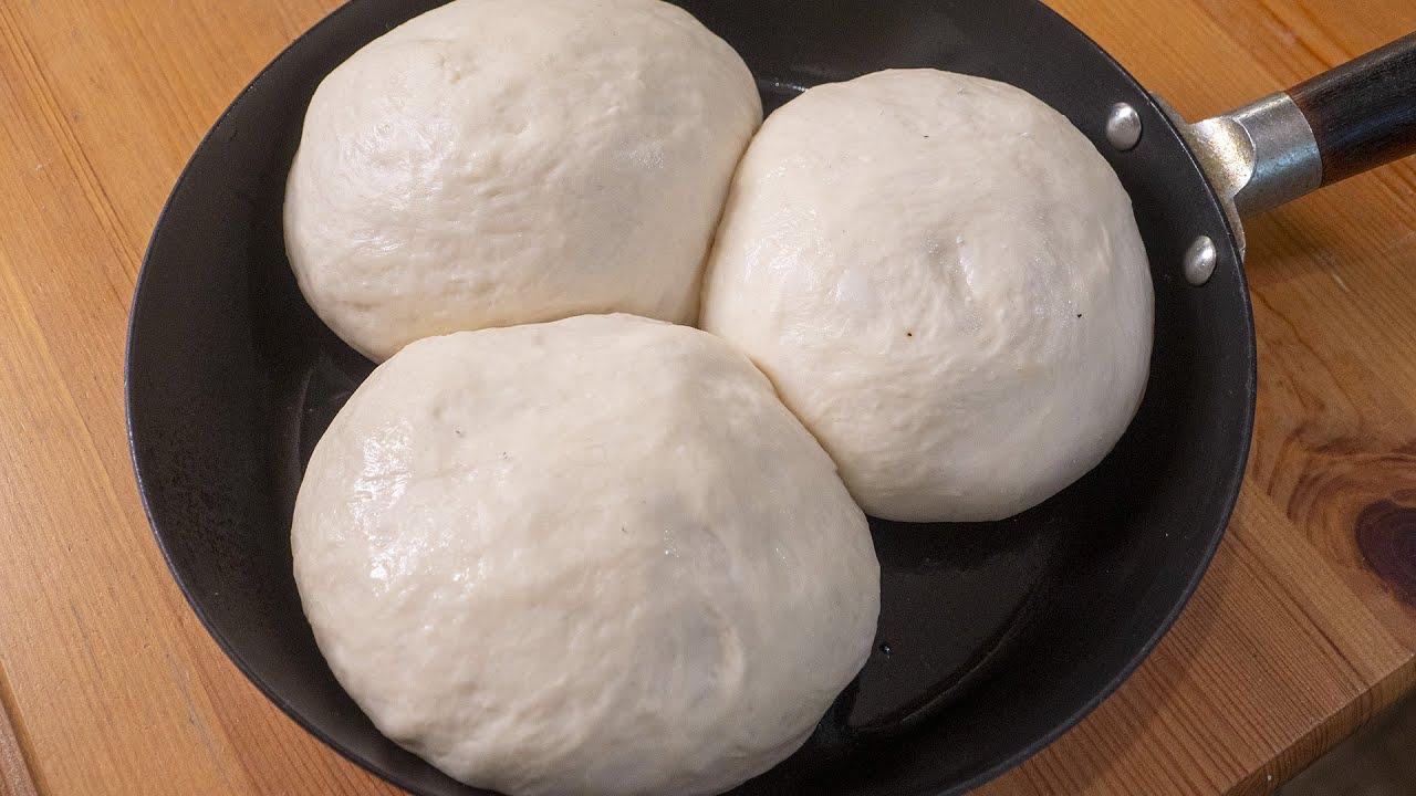 Три вида хлеба из одного теста. Делаю вкусные пампушки с чесноком,  итальянские Фокаччу и Гриссини.