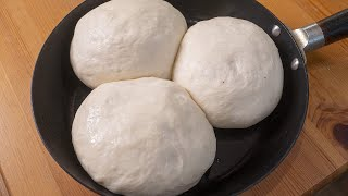 Самое быстрое и вкусное дрожжевое тесто Три вида хлеба из одного теста