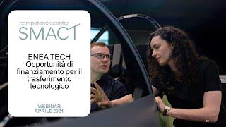 SMACT | Enea Tech, opportunità di finanziamento per il trasferimento tecnologico