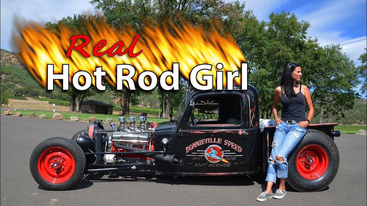 Real Hot Rod Girl - YouTube