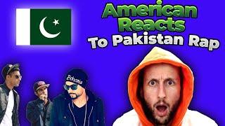 American Rapper Reacts To Pakistan Rap!