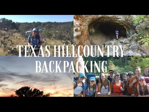 Backpacking in the Texas Hillcountry