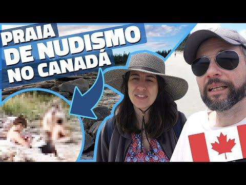 PELADÕES NA PRAIA DE NUDISMO e MARÉ ALTA NO CANADÁ! - HORNBY ISLAND #4 - Vlog Ep.141