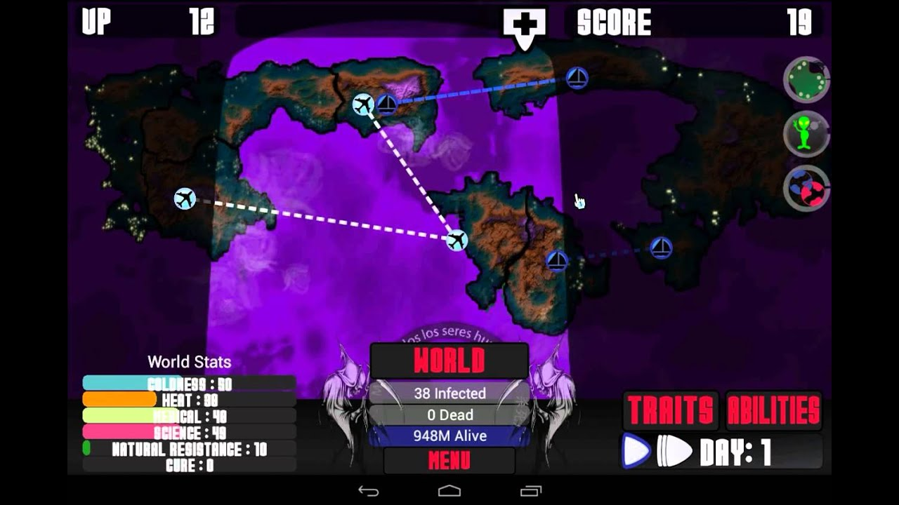 Game like pandemic for android