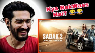 Sadak 2 ( Official Trailer ) Sanjay Dutt | Pooja | Alia | Aditya | Mahesh Bhatt / REACTION !!!!