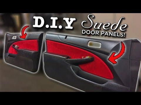 Custom Suede Door Panels | Interior Swap Pt.7 | Project EM2