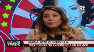 María José Quintanilla cuenta su experiencia en México