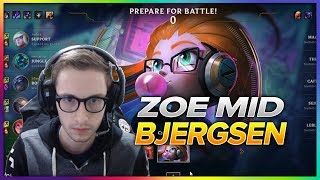 618. Bjergsen Zoe vs Leblanc Mid - Patch 8.8 Season 8 - BJERGSEN STREAM