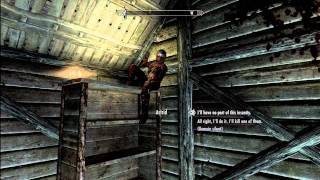 Skyrim - Declining the Dark Brotherhood's Invite (Killing Astrid) (Expert Difficulty)(HD)