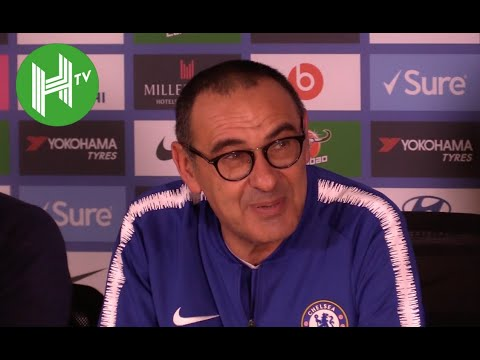 Chelsea 2-0 Manchester City  I Maurizio Sarri: Eden Hazard can be a Chelsea striker Mp3