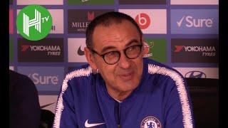 Chelsea 2-0 Manchester City  I Maurizio Sarri: Eden Hazard can be a Chelsea striker