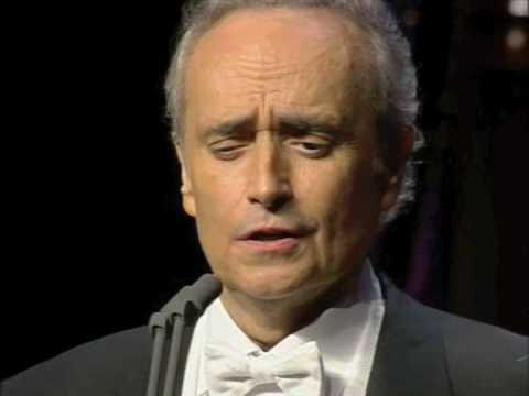 """JOSÉ CARRERAS - """"Lippen Schweigen"""" - Franz Lehar"""