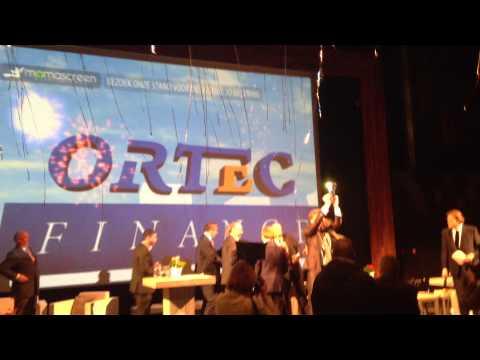 Ortec Finance wint ondernemersprijs Rotterdam 2012!!!!